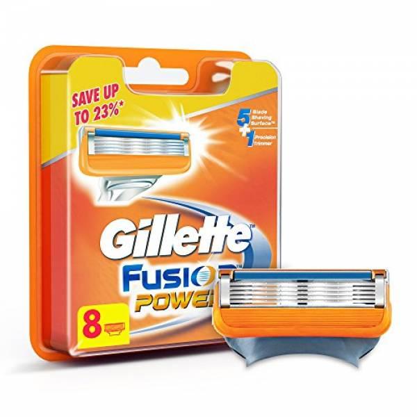 Gillette Fusion POWER skutimosi peiliukai