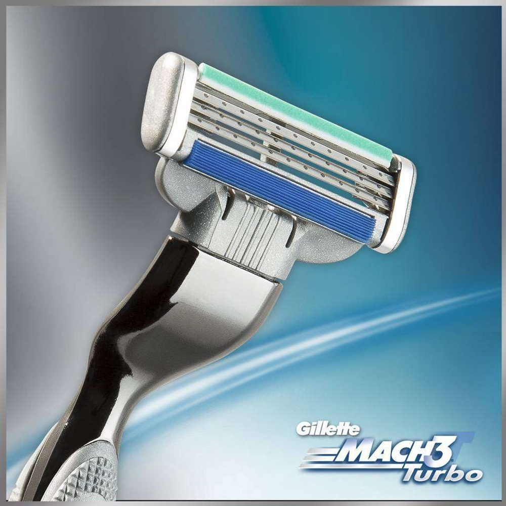 Gillette Mach 3 Turbo peiliukai