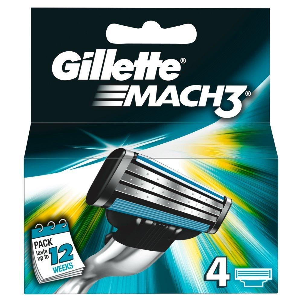 Gillette Mach 3 skutimosi peiliukai